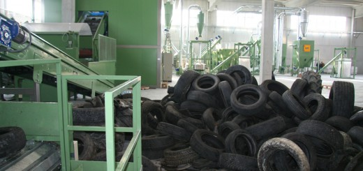 tyre-recycling-plant